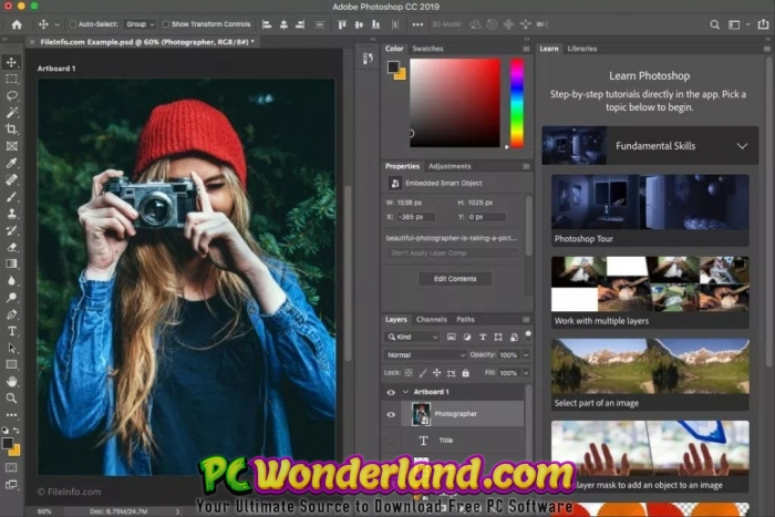 Adobe Photoshop CC 2019 20 0 4 Free Download - PC Wonderland