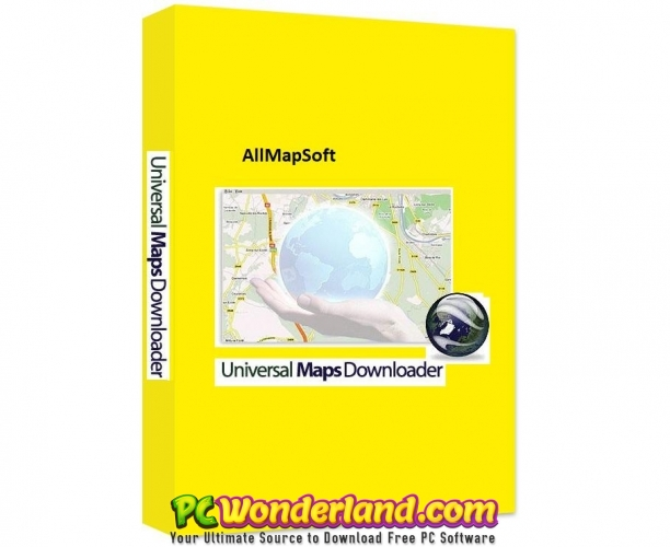 AllMapSoft Universal Maps Downloader 9 907 Free Download