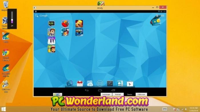andy android emulator download for windows 7 offline installer