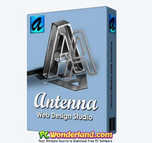 Antenna Web Design Studio 6 6 With Portable Free Download Pc Wonderland