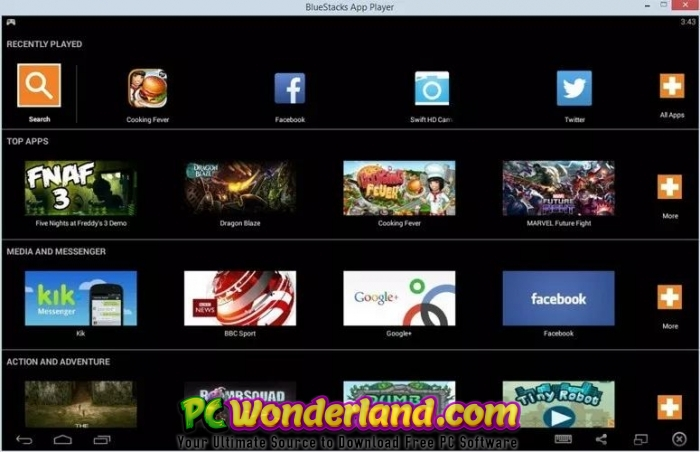 BlueStacks 4 60 3 1001 MacOS Free Download - PC Wonderland