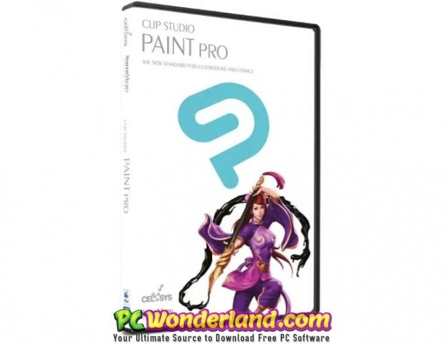 Clip Studio Paint EX 1.8.8 Free Download - PC Wonderland