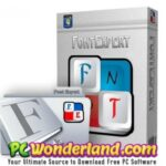 FontExpert 2019 with Portable Free Download