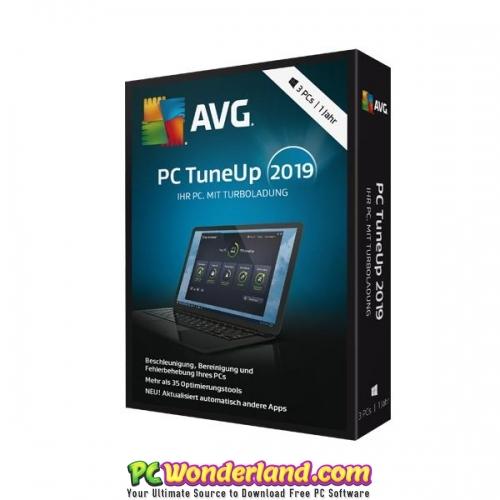 AVG TuneUp 2019 19 1 840 Free Download - PC Wonderland