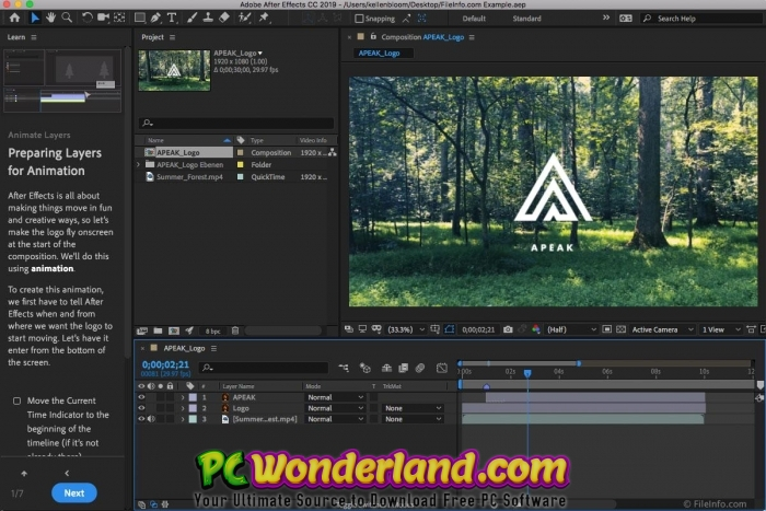 Adobe After Effects CC 2019 16 1 1 4 Free Download - PC