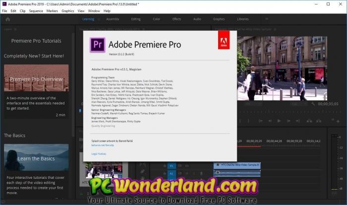Adobe Premiere Pro CC 2019 13 1 2 9 Free Download - PC