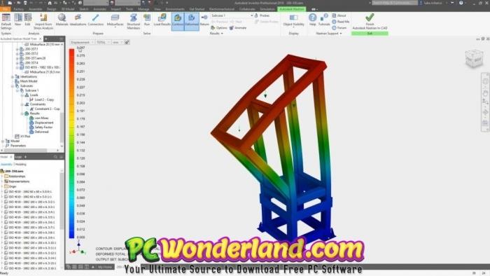 Autodesk Inventor Nastran 2020 Free Download - PC Wonderland