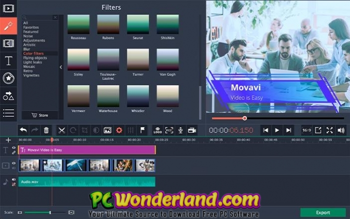 Movavi Video Editor Business 15 3 1 Free Download - PC