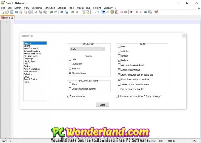 Notepad++ 7 6 6 Free Download - PC Wonderland