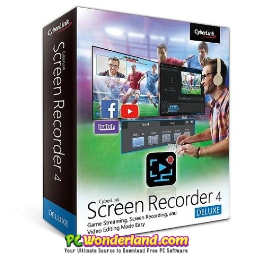Cyberlink screen recorder deluxe 4 free download pc wonderland.