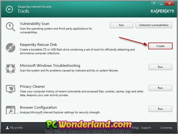 Kaspersky Rescue Disk 2018 18 0 11 0 Build 2019 05 06 Free