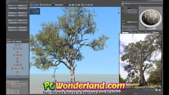 SpeedTree Modeler 8 Free Download - PC Wonderland