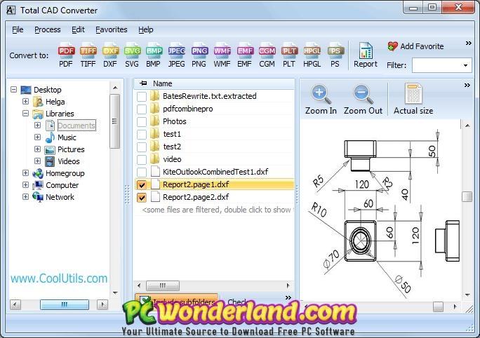 CoolUtils Total CAD Converter 3 Free Download - PC Wonderland