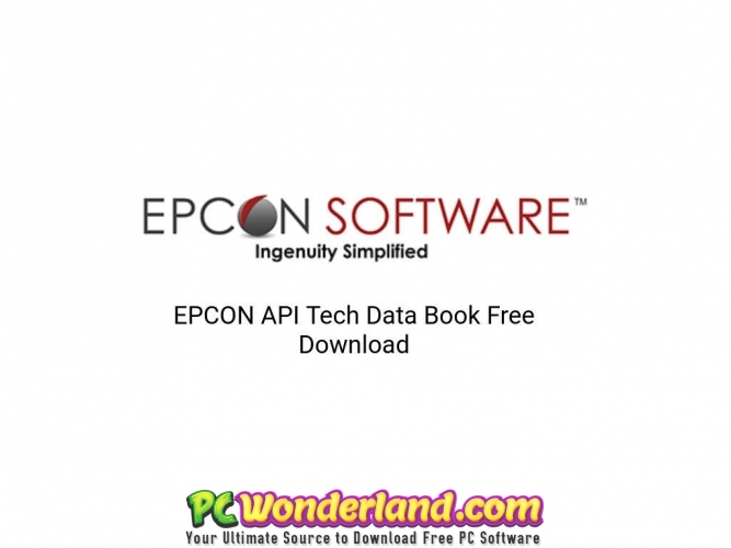 EPCON API Tech Data Book 10 Free Download - PC Wonderland