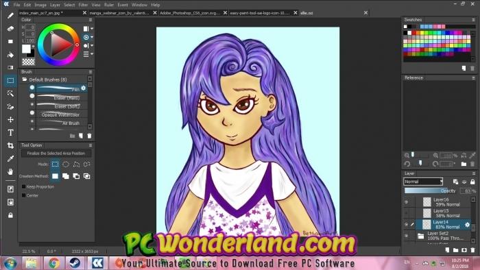 OpenCanvas 7 Free Download - PC Wonderland