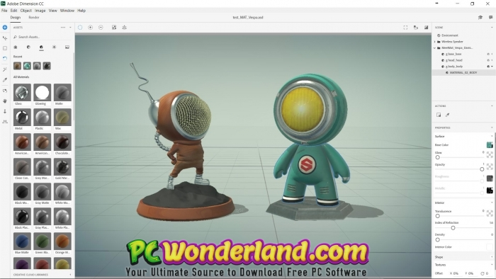 Adobe Dimension CC 2019 Free Download - PC Wonderland