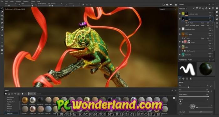 Allegorithmic Substance Painter 2019 Free Download - PC