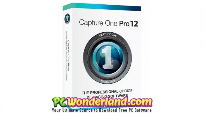 Capture One Pro 12 Free Download - PC Wonderland
