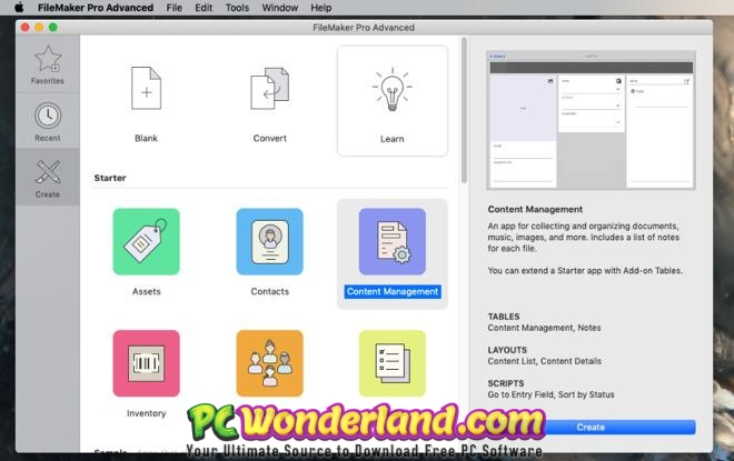 FileMaker Pro 18 Free Download - PC Wonderland