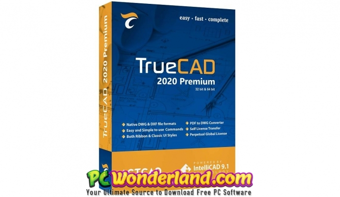 TrueCAD Premium 2020 Free Download - PC Wonderland