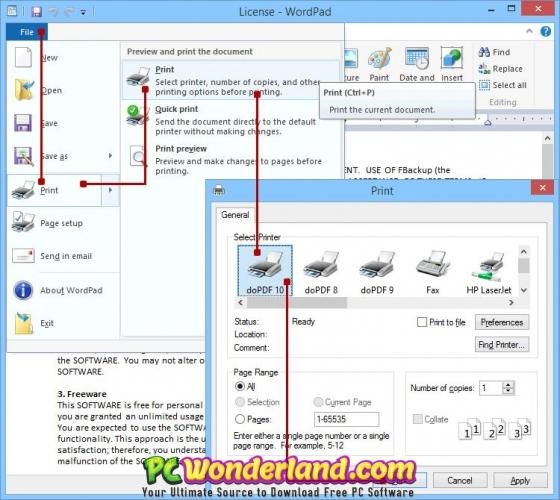 doPDF 10 Free Download - PC Wonderland