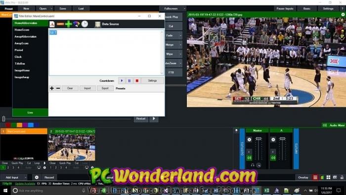 VMix Pro 22 Free Download - PC Wonderland