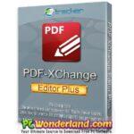 PDF XChange Editor Plus 8 Free Download