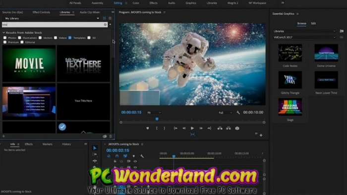 After effects projects free download