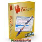 Emurasoft EmEditor Professional 19.6.1 Free Download