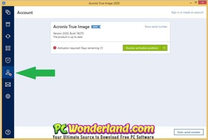 Acronis True Image 2020 Build 21400