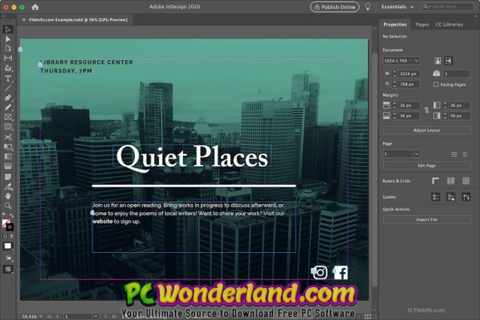 Adobe InDesign 2020 15.1.1 macOS Free Download 3
