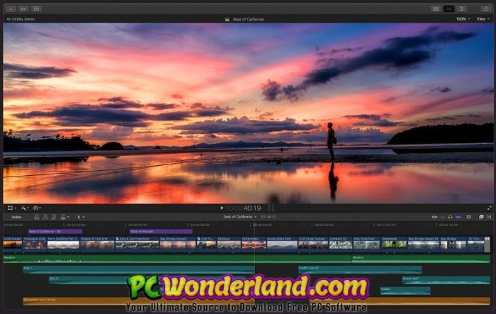 Apple Final Cut Pro X 10.4.9 macOS Free Download 2