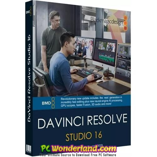 DaVinci Resolve Studio 16.2.6.5 Free Download 1