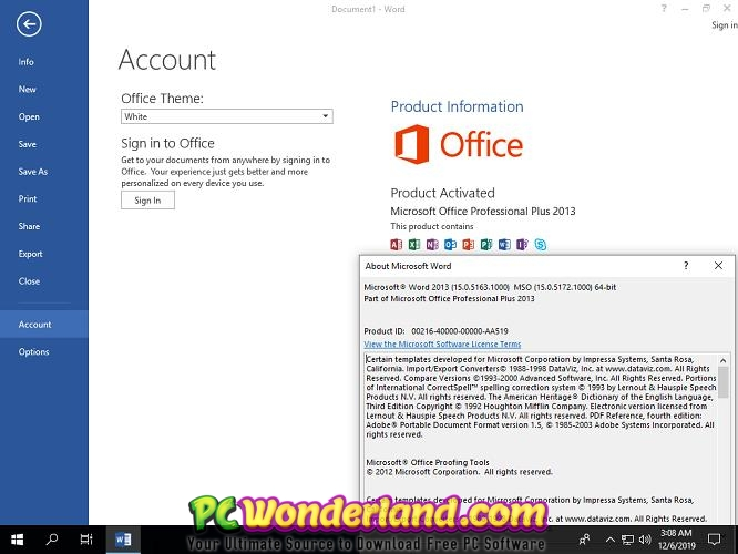 Office 2013 Pro Plus SP1 VL August 2020 Free Download 1 2