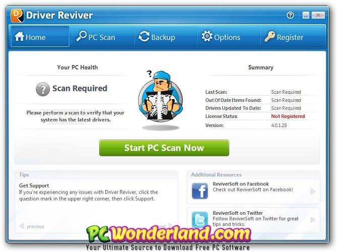 ReviverSoft Driver Reviver 5.34.1.4 Free Download 2