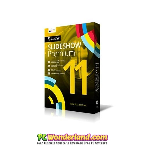 AquaSoft SlideShow Premium 11 Free Download 1