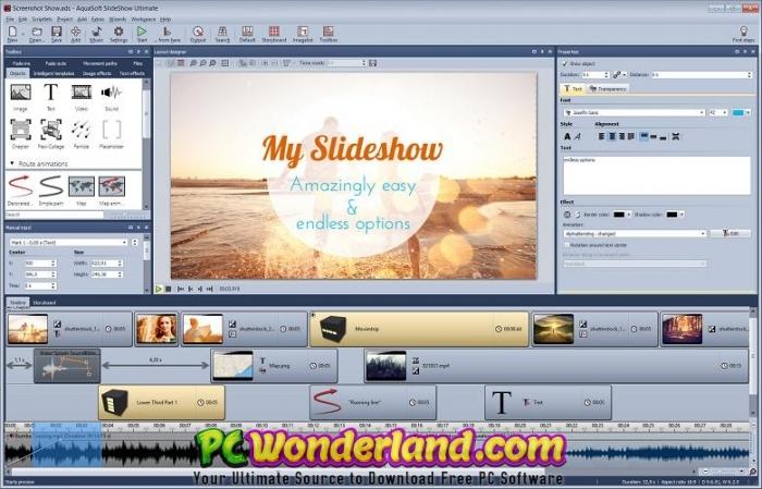 AquaSoft SlideShow Premium 11 Free Download 2