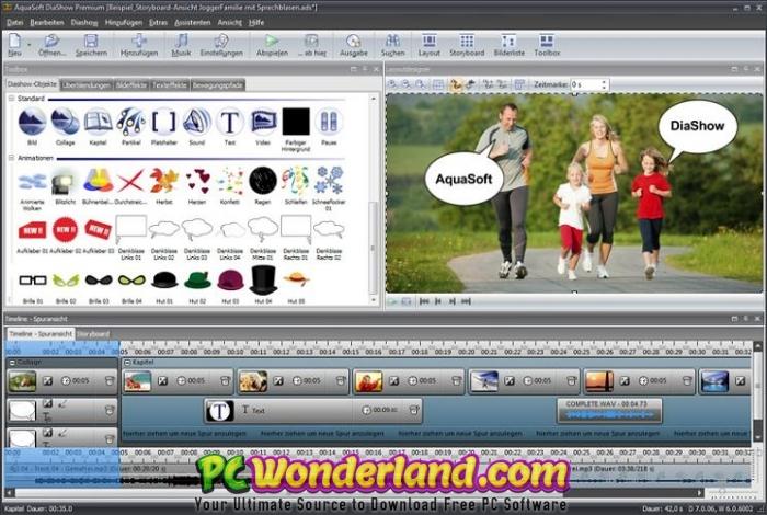 AquaSoft SlideShow Premium 11 Free Download 4
