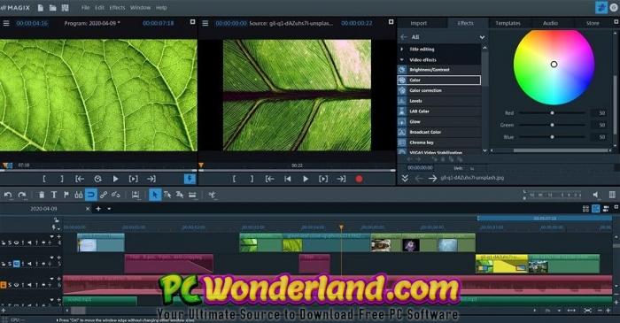 MAGIX Video Pro X12 18 Free Download 2
