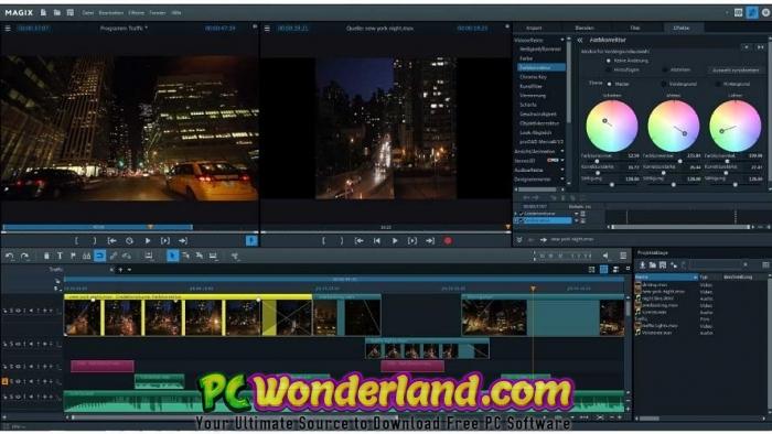 MAGIX Video Pro X12 18 Free Download 3