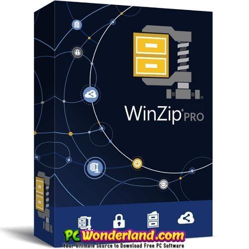 WinZip Pro 25 Build 14245 Free Download 1