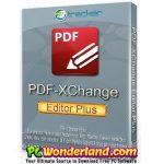 PDF-XChange Editor Plus 9 Free Download